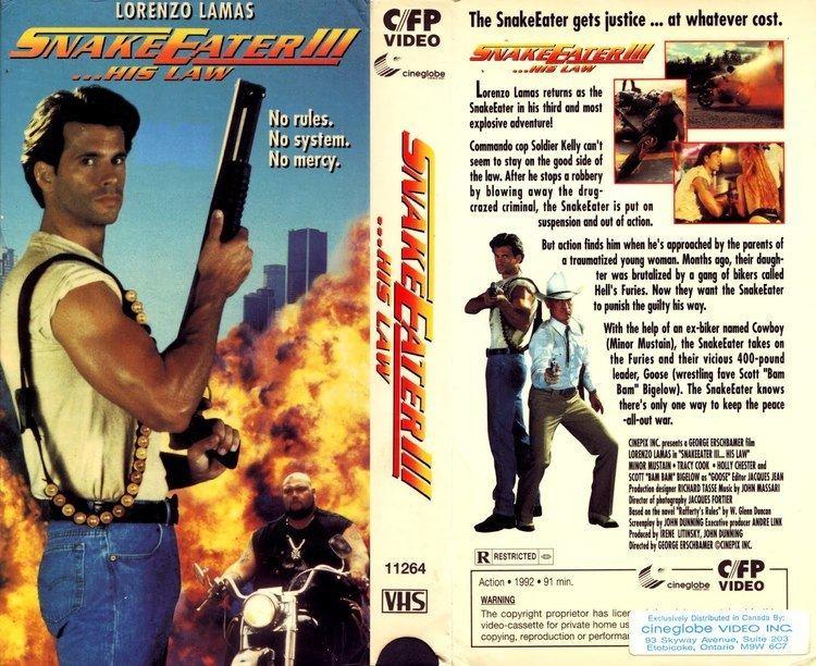 Snake Eater (film) Snake Eater III His Law 1992 YouTube VHScoverART