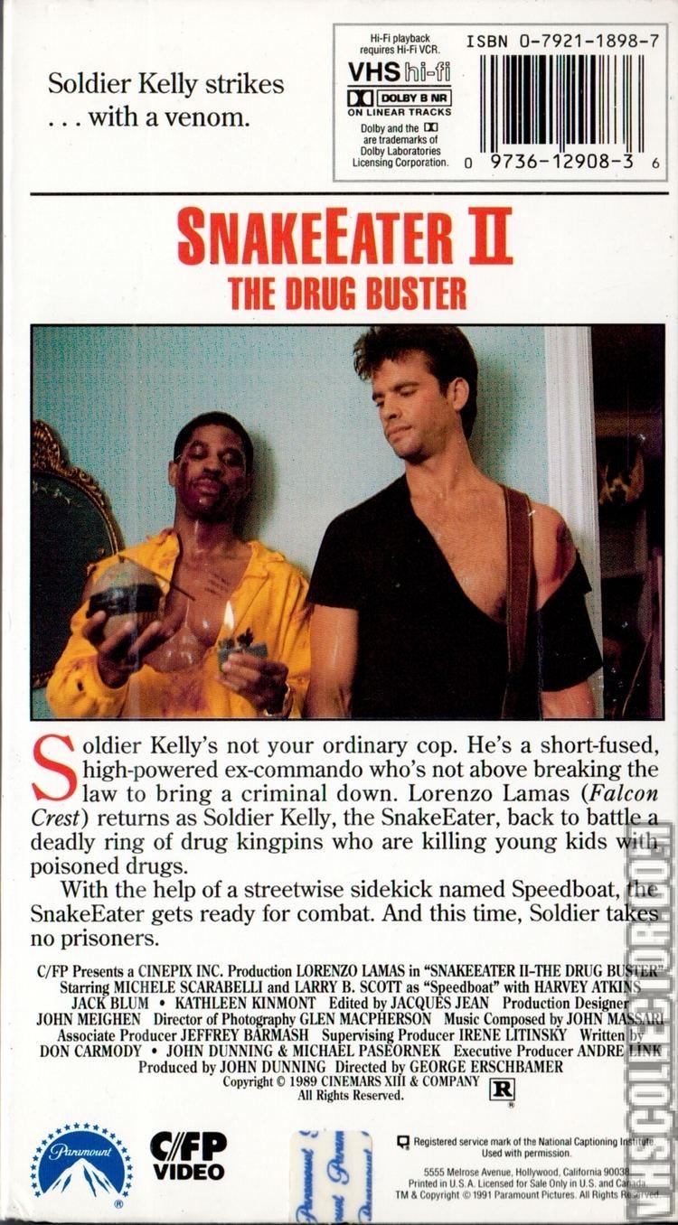 Snake Eater II: The Drug Buster Snake Eater II The Drug Buster VHSCollectorcom Your Analog