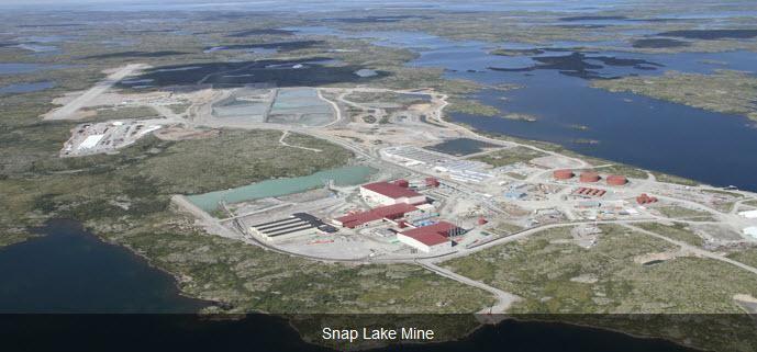 Snap Lake Diamond Mine Lake Diamond Mine