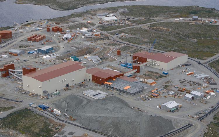 Snap Lake Diamond Mine Construction and Building Contractors Ledcor Group Ledcor Group