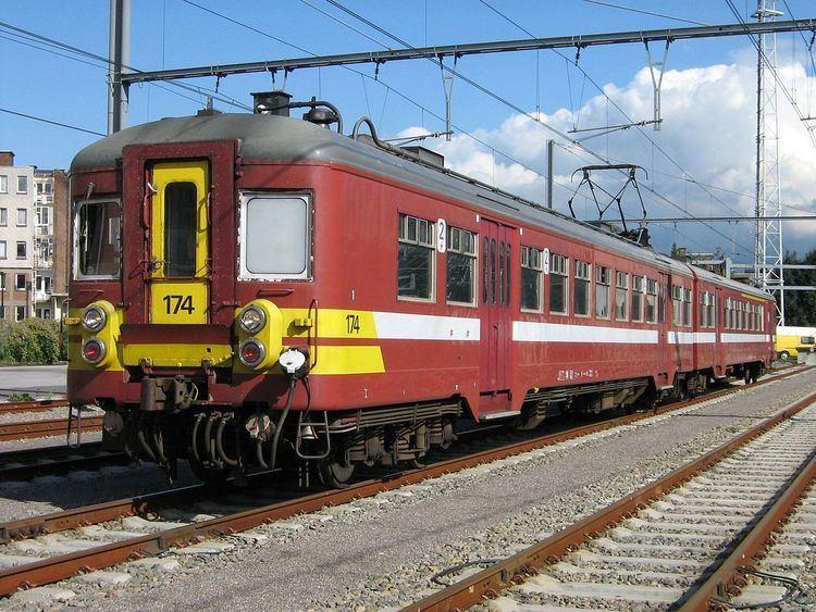 SNCB Class AM50