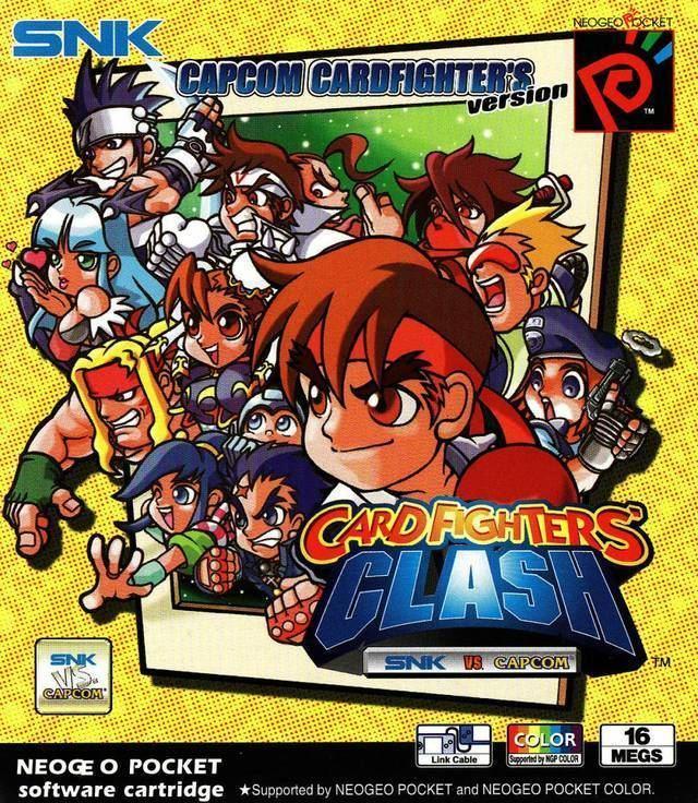 SNK vs. Capcom: Card Fighters Clash SNK vs Capcom Card Fighter39s Clash Capcom Version Box Shot for