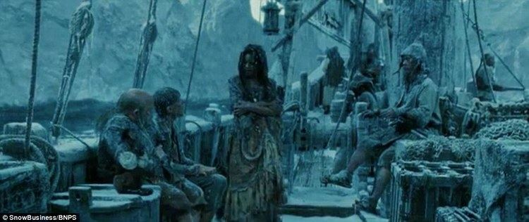 Snow Business movie scenes A frosty looking scene in Pirates of the Caribbean created with the help of Gloucestershire