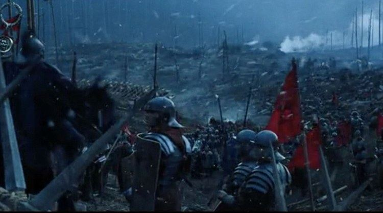 Snow Business movie scenes The company also created the breezy snowflakes which feature in the opening battle scene of Gladiator