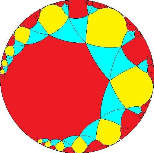 Snub apeiroapeirogonal tiling