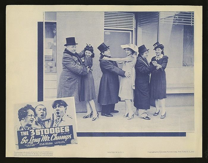 So Long Mr. Chumps Robert Edward Auctions 1941 The Three Stooges span stylefont