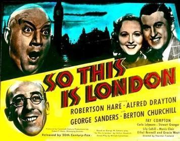 So This Is London (1939 film) So This Is London 1939 film Wikipedia