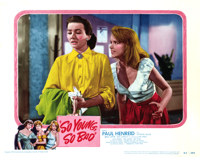 So Young, So Bad Tuesdays Overlooked Film So Young So Bad 1950