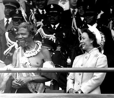 Sobhuza II Photographs His Majesty King Sobhuza II