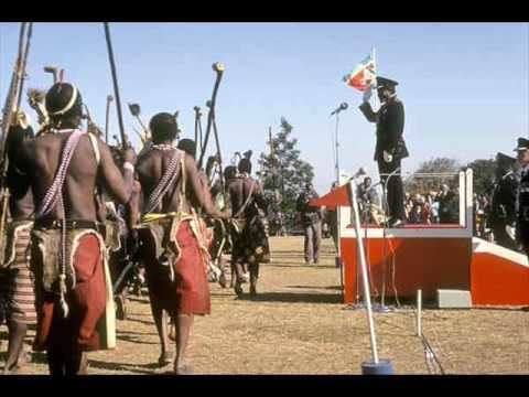 Sobhuza II King Sobhuza II of Swaziland tribute no2 to a great man YouTube