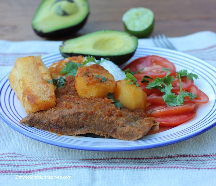 Sobrebarriga Sobrebarriga Sudada Flan Steak Stew My Colombian Recipes