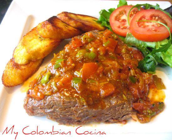 Sobrebarriga My Colombian Cocina Sobrebarriga en Salsa
