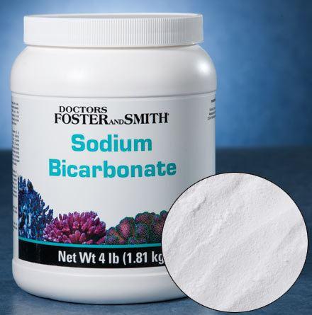 Sodium bicarbonate Marine Aquarium Alkalinity Supplement Drs Foster and Smith Sodium