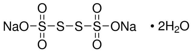Sodium tetrathionate Sodium tetrathionate dihydrate SigmaAldrich
