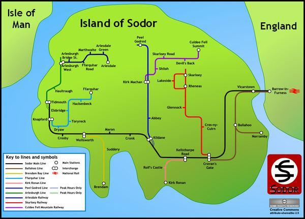 Sodor (fictional island) Sodor fictional island Wikipedia