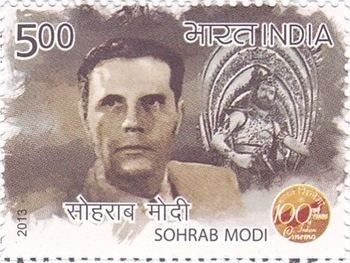 Sohrab Modi 100YearsofIndianCinemaSohrabModijpg