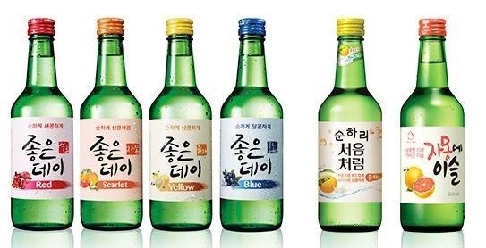Soju Fruit flavored Soju Korea39s new craze OnedayKorea