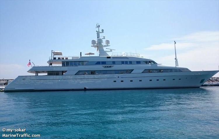 Sokar (yacht) Vessel details for SOKAR Yacht IMO 8963997 MMSI 310222000