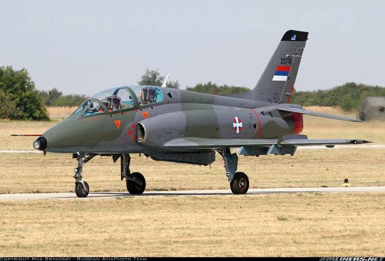 Soko G-4 Super Galeb Soko G4 Super Galeb Serbia Air Force Aviation Photo 2163580