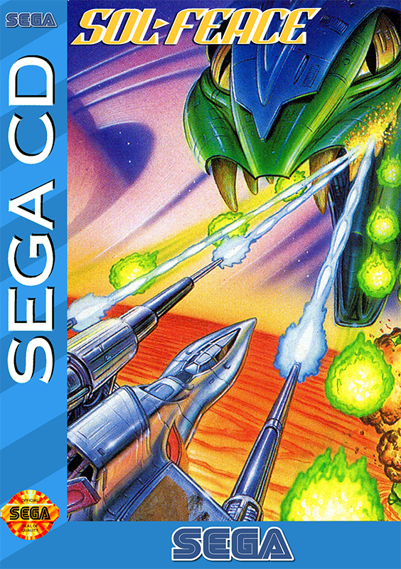 Sol-Feace Play SolFeace Sega CD online Play retro games online at Game Oldies