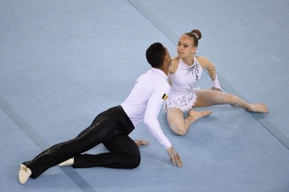 Solano Cassamajor Nouvelle mdaille belge aux Jeux Europens les gymnastes