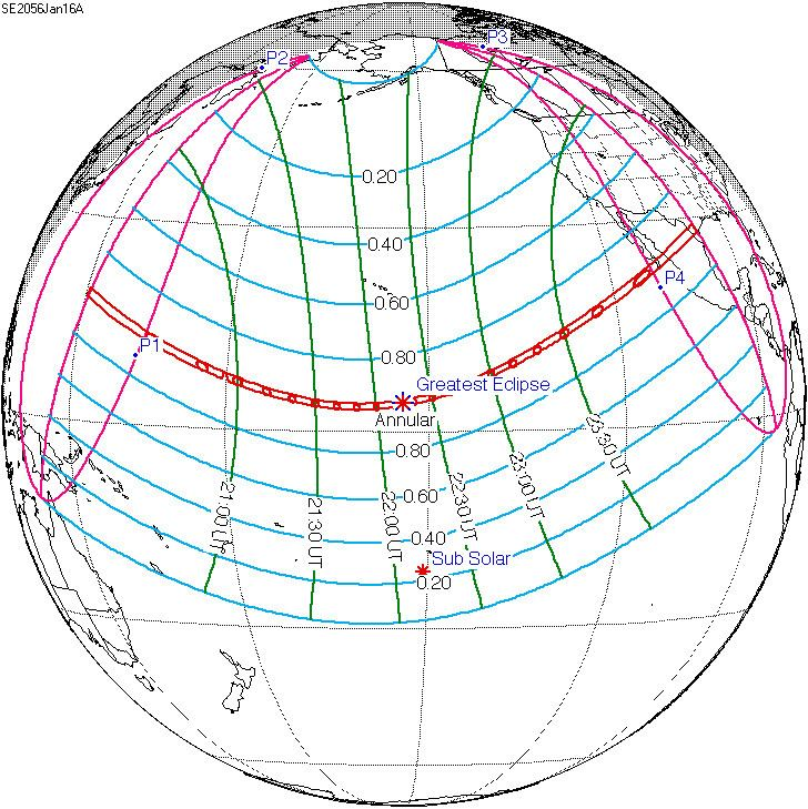 Solar eclipse of January 16, 2056