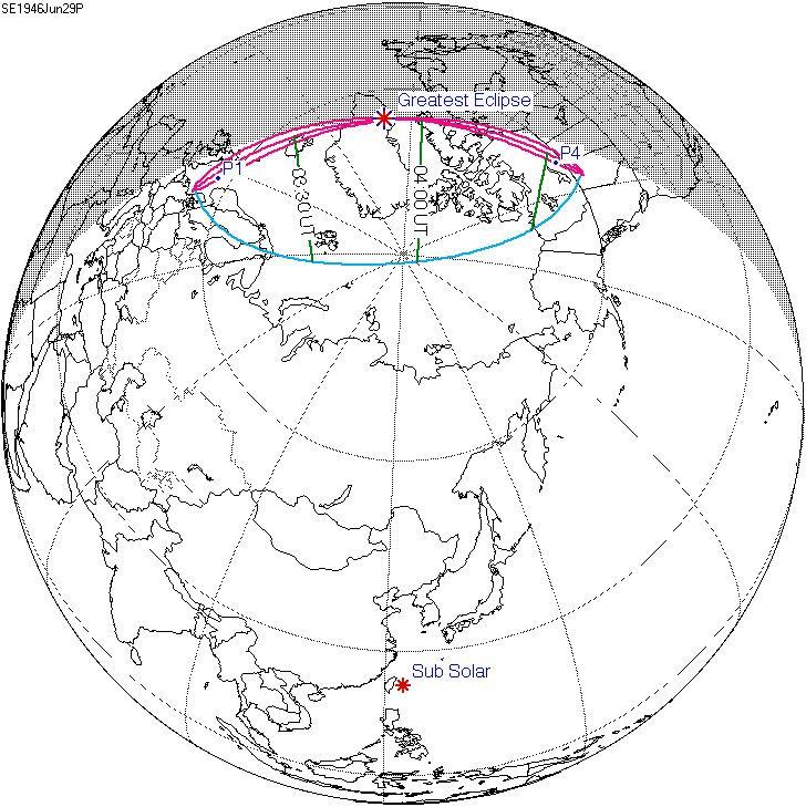 Solar eclipse of June 29, 1946
