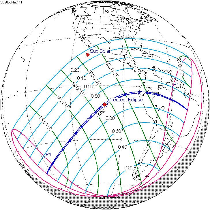 Solar eclipse of May 11, 2059