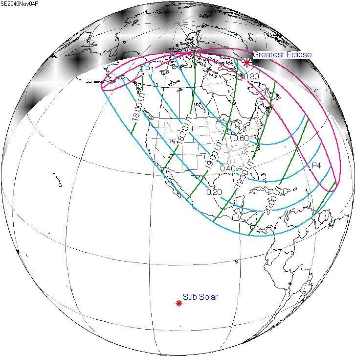 Solar eclipse of November 4, 2040