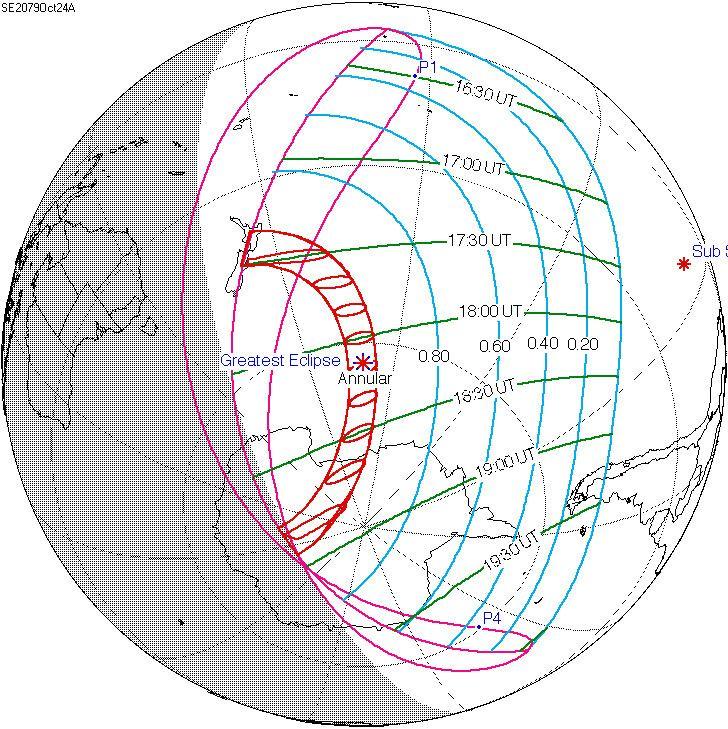 Solar eclipse of October 24, 2079