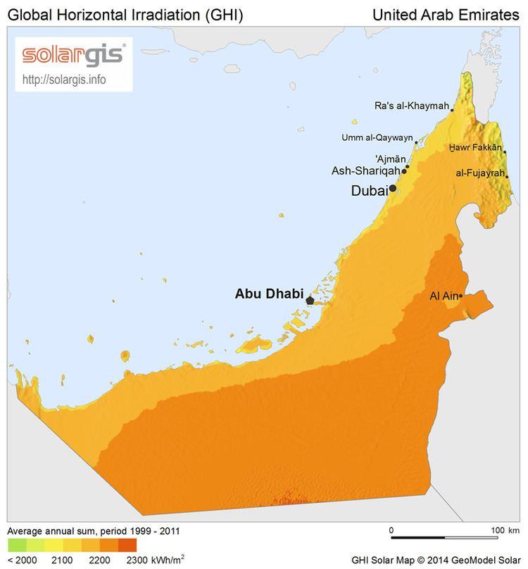 Solar power in the United Arab Emirates
