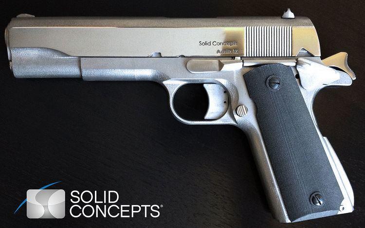 Solid Concepts 1911 DMLS