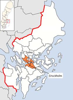 Solna Municipality Wikipedia