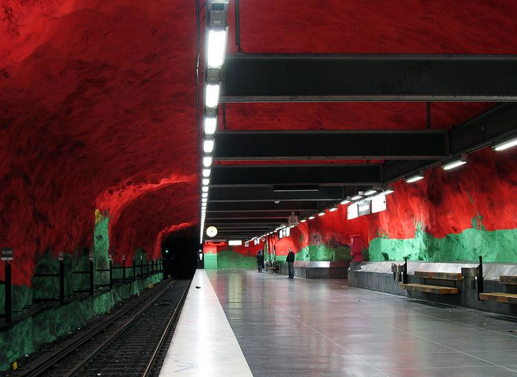 Solna centrum metro station Wikipedia