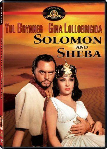 Solomon and Sheba Amazoncom Solomon Sheba Yul Brynner Gina Lollobrigida George
