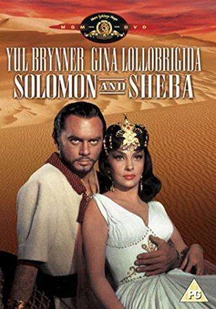 Solomon and Sheba Solomon And Sheba DVD Amazoncouk Yul Brynner Gina