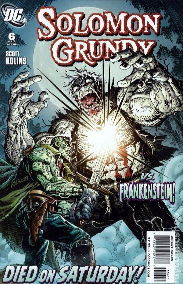 Solomon Grundy (comics) Solomon Grundy 2009 DC comic books