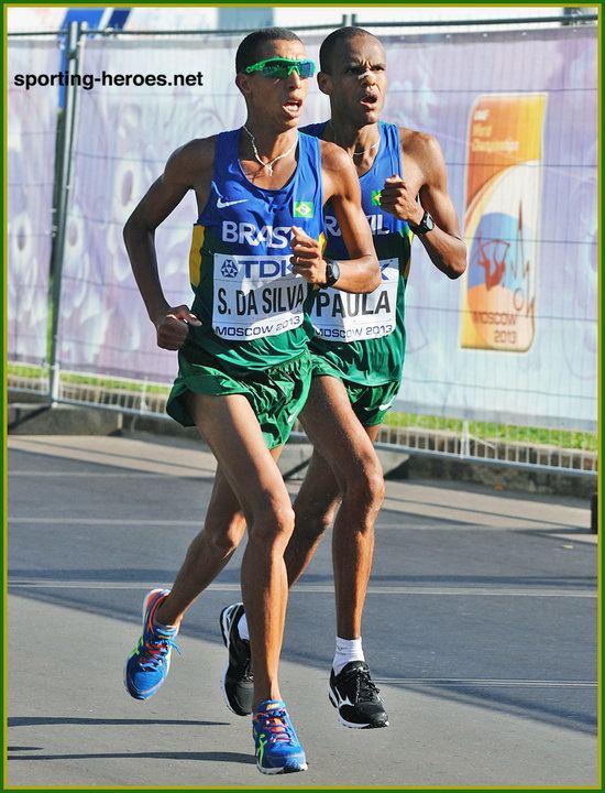 Solonei da Silva Solonei da SILVA Sixth at 2013 World Championships