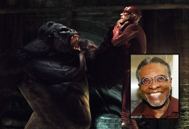 Solovar The Flash39 Casts Keith David as Voice of Solovar in Grodd TwoPart