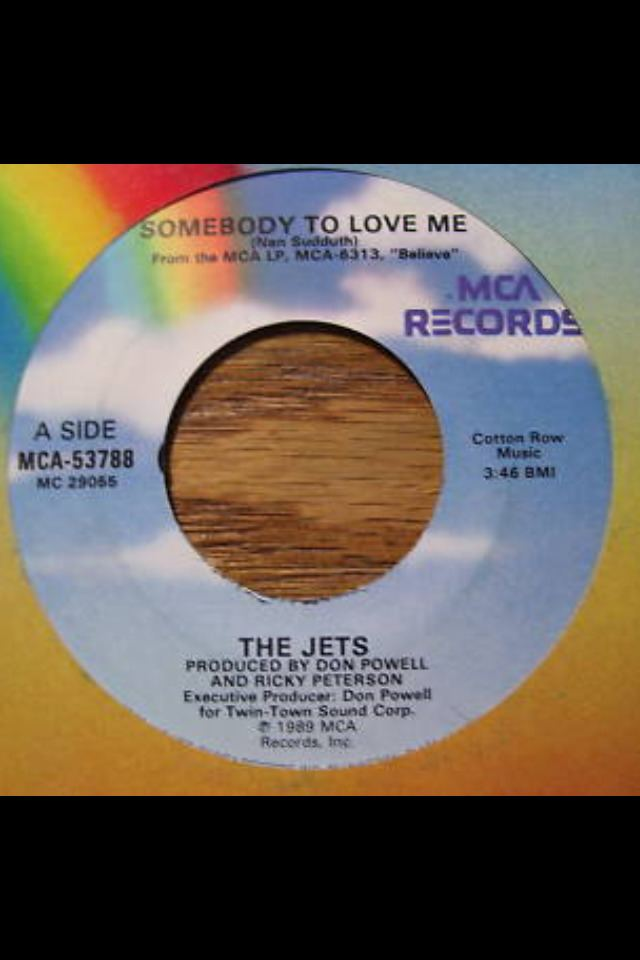 Somebody to Love Me (The Jets song)