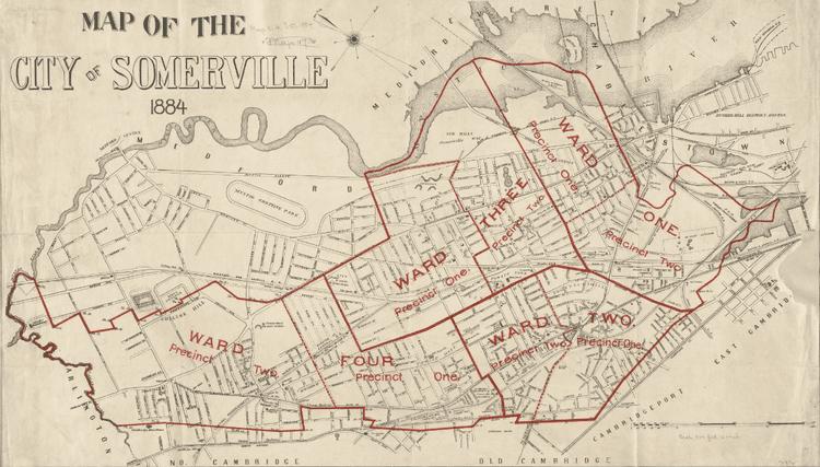 Somerville, Massachusetts in the past, History of Somerville, Massachusetts