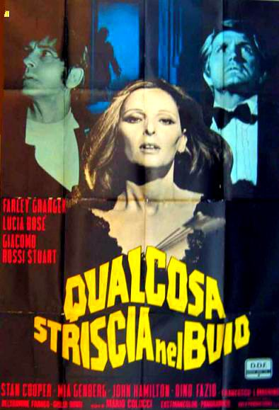 Something Creeping in The Dark The Bloody Pit of Horror Qualcosa striscia nel buio 1971