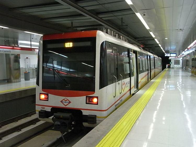 Son Castelló metro station