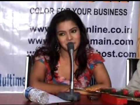 Sonali Chowdhury Speech of Sonali ChowdhuriBengali Actress regarding launching of