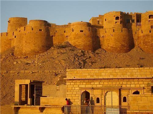 Sonar Kella Satyajit Ray and The Golden Fortress Movie on Jaisalmer Fort