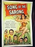 Song of the Sarong movie poster