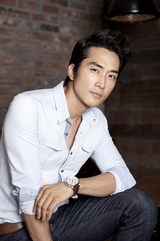 Song Seung-heon Song Seung Hun Black Medium Up Cool Asian Hair Pinterest Black