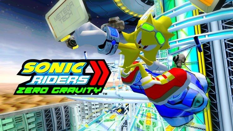 Sonic Riders: Zero Gravity - Alchetron, the free social