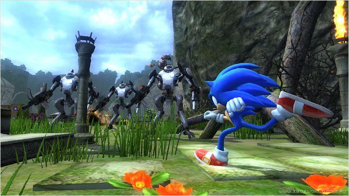 Sonic the Hedgehog (2006 video game) Screenshot in kingdom valley image Sonic The Hedgehog 2006 Mod DB