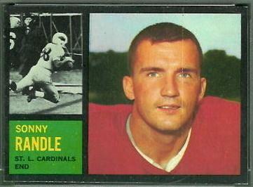 Sonny Randle Sonny Randle 1962 Topps 144 Vintage Football Card Gallery